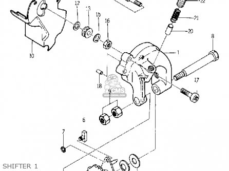 yamaha yg1 trailmaster 80 1964 usa parts lists and schematics rh cmsnl com 1965 Yamaha 80 Motorcycle 1965 Yamaha 80 Motorcycle