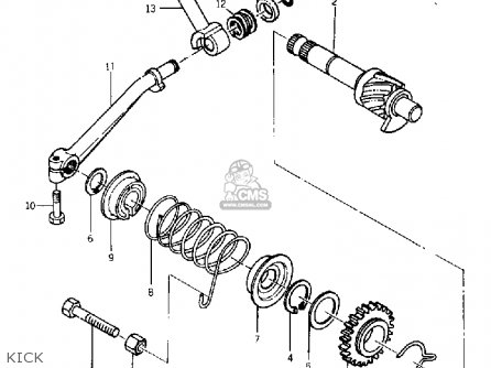 Yamaha Yg5t Trailmaster 80 1968 Usa Parts Lists And Schematics