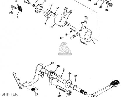 Yamaha Yg5t Trailmaster 80 1968 Usa Parts Lists And Schematics
