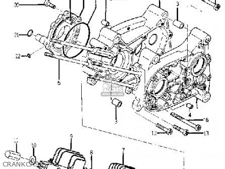 Yamaha Yj1 1964 1965 Usa Crankcase