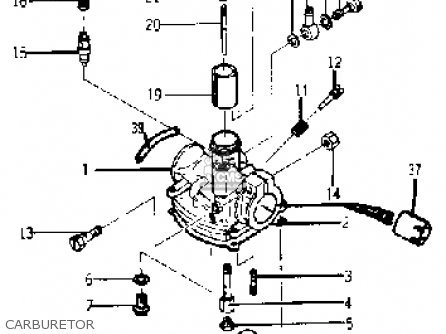 Yamaha Yj1 1964 1965 Carburetor