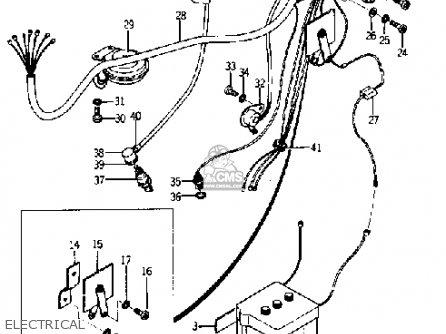 Yamaha Yj1 1964 1965 Electrical