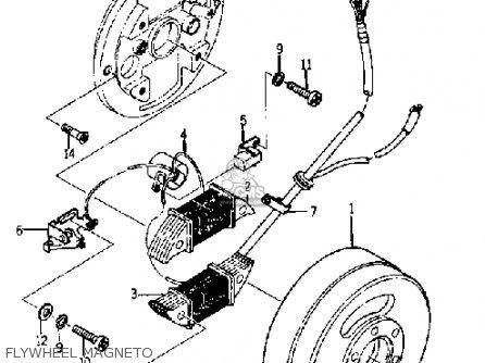 Yamaha Yj1 1964 1965 Flywheel Magneto