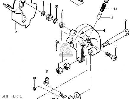 Yamaha Yj1 1964 1965 Shifter 1