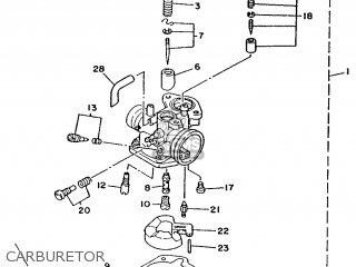 Yamaha Ym50 1995 4rc1 Germany 254rc-332g2 Carburetor