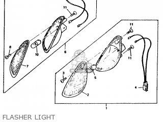 Yamaha Ym50 1995 4rc1 Germany 254rc-332g2 Flasher Light