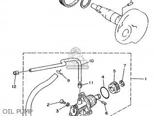 Yamaha Ym50 1995 4rc1 Germany 254rc-332g2 Oil Pump