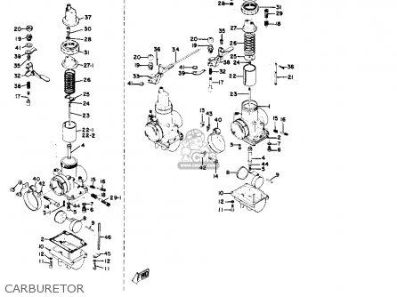 Yamaha Yr1 Dual Purpose 1967 1968 Usa Carburetor