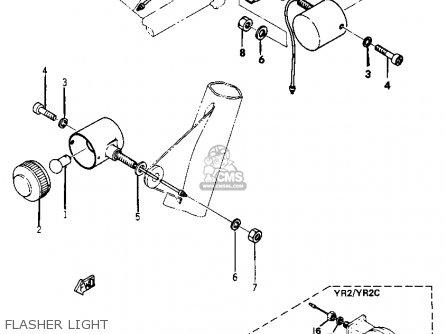 Yamaha Yr1 Dual Purpose 1967 1968 Usa Flasher Light