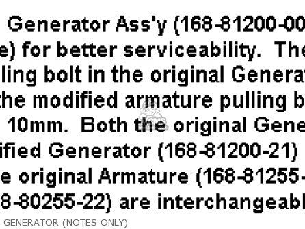 Yamaha Yr1 Dual Purpose 1967 1968 Usa Generator notes Only