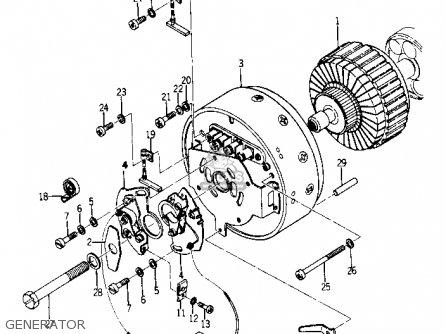 Yamaha Yr1 Dual Purpose 1967 1968 Usa Generator