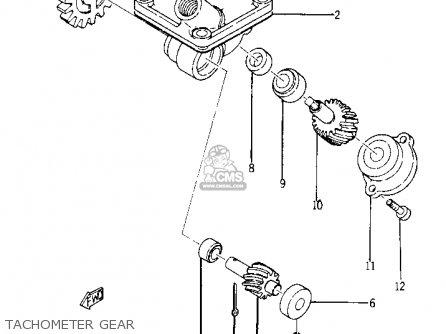 Yamaha Yr1 Dual Purpose 1967 1968 Usa Tachometer Gear