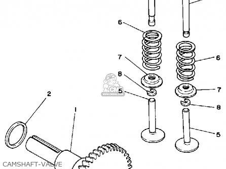 Yamaha Ys624tm Snow Blower 1988 Camshaft-valve