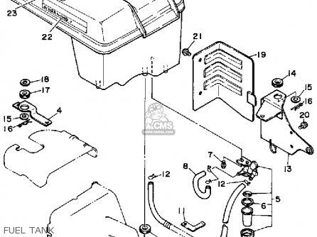 Yamaha Ys624tm Snow Blower 1988 Fuel Tank