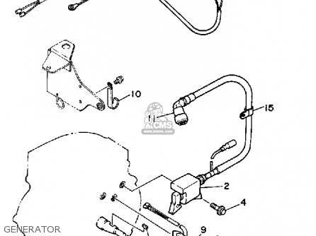 Yamaha Ys624tm Snow Blower 1988 Generator