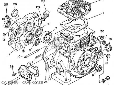 Yamaha Ys828wm Snow Blower 1988 Parts Lists And Schematics
