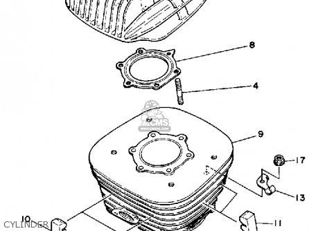 Yamaha Ysp200w Blaster 1989 Cylinder