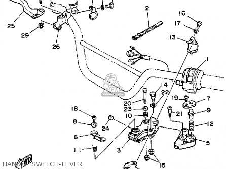 Yamaha Ysp200w Blaster 1989 Handle Switch-lever