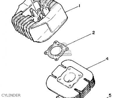 yamaha ysr50 1990 (l) usa parts lists and schematics Yamaha YSR 50 Body