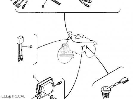 Yamaha Yt125k Tri-moto 1983-1984 Electrical