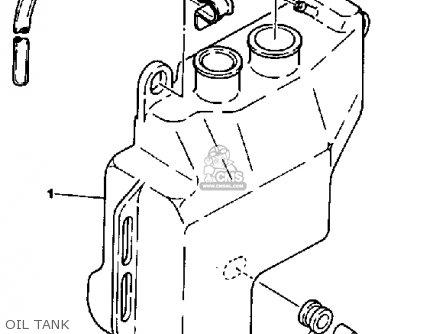Yamaha Yt125k Tri-moto 1983-1984 Oil Tank