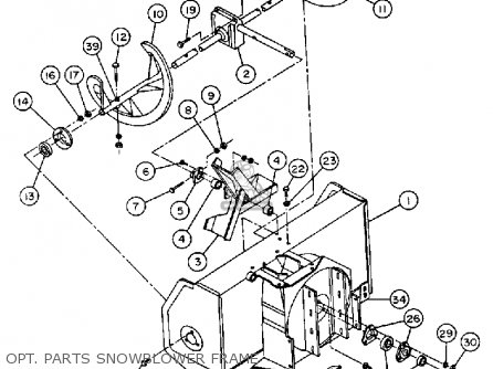 yamaha yt3600p front engine lawn tractor 1990 opt parts snowblower frame_mediumyau0234f 4_a0d1 4 hp 12 volt electric motors 4 find image about wiring diagram,Wiring Diagram For 3 4 Hp Electric Motor