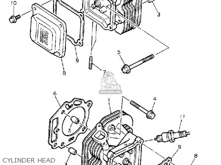 Yamaha Yt5700p Front Engine 1990 Parts Lists And Schematics