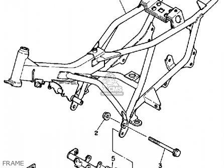 Yamaha Yt60n Tri-zinger 1984-1985 Frame