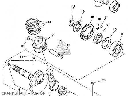 yamaha ytm 225 wiring diagram yamaha 225 wiring diagram #11