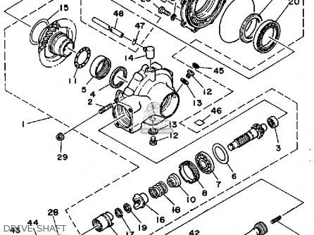 yamaha ytm 225 wiring diagram yamaha serow 225 wiring diagram yamaha ytm225drn tri-moto 1985 parts list partsmanual ... #5