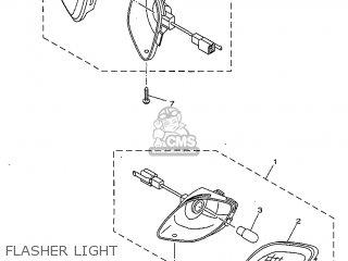 Yamaha Yv50 1998 5bm2 Denmark 285bm-331e1 Flasher Light