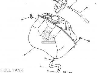 Yamaha Yv50 1998 5bm2 Denmark 285bm-331e1 Fuel Tank