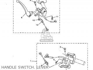 Yamaha Yv50 1998 5bm2 Denmark 285bm-331e1 Handle Switch  Lever