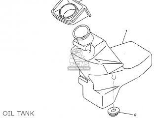 Yamaha Yv50 1998 5bm2 Denmark 285bm-331e1 Oil Tank