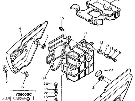 Wiring Diagram 84 Virago 1000 additionally 2002 Polaris 600 Fuel Pump additionally Water Pump Intake Screen in addition Rv Generator Fuel Pump Replacement as well 2006 Yamaha Fz6 Wiring Diagram. on yamaha yzf600r wiring diagram