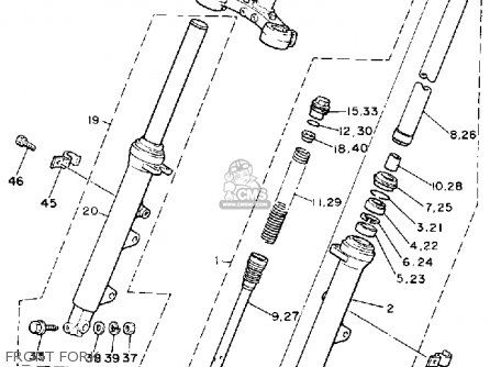Yamaha Radian Crankshaft