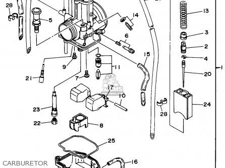 Yamaha Yz Engine Transmission Parts Schematics