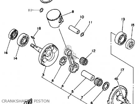 yamaha yz125 1985 f usa crankshaft piston_mediumyau1026a 7_7293 1996 ford f150 radio wiring color diagram 1996 find image about,1996 Mustang Ignition Wiring