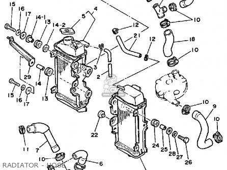 Yamaha Yz125 1985 F Usa Parts Lists And Schematics
