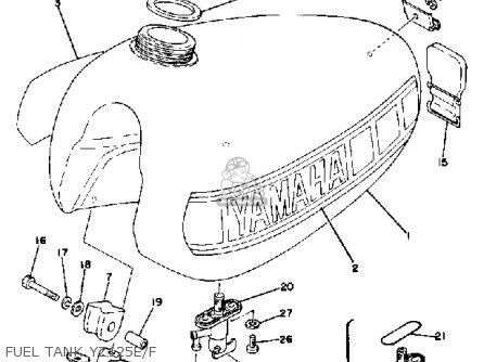 Yamaha 400 Engine Diagram