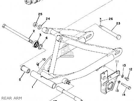 Yamaha Yz175 1976 Usa Rear Arm