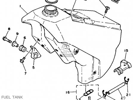 1990 Yamaha Yz250 Electrical Diagram