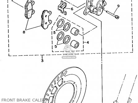 Yamaha 125 Dirt Bike Engine Diagram