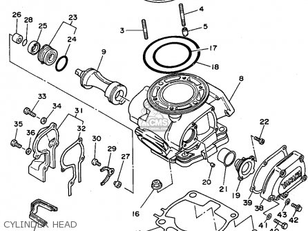 Yamaha Yz250 Cylinder Engine Diagram on ninja 250 wiring diagram