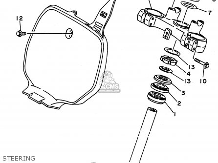 Bike Suspension Fork Parts Diagram