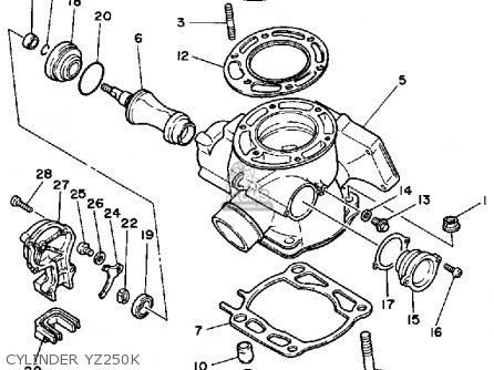 Yz250 Wiring Diagram
