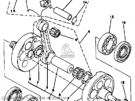 yamaha yz250 h competion 1980/1981 parts list partsmanual ... ford 900 wiring diagram
