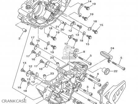 Yamaha Yz250f 2003  3  Usa parts list partsmanual partsfiche