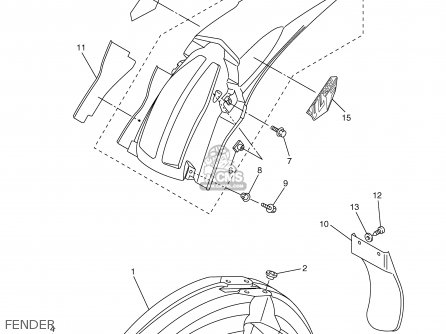 Wiring Diagram 2004 Yz250f 05 Yz250f Yamaha Yz250f Yellow Yz250f