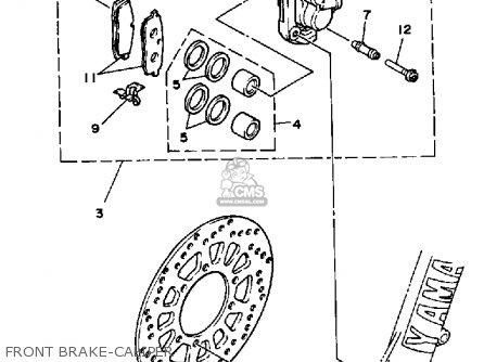 Yamaha Yz250s 1986 Front Brake-caliper